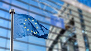 EU flag.
