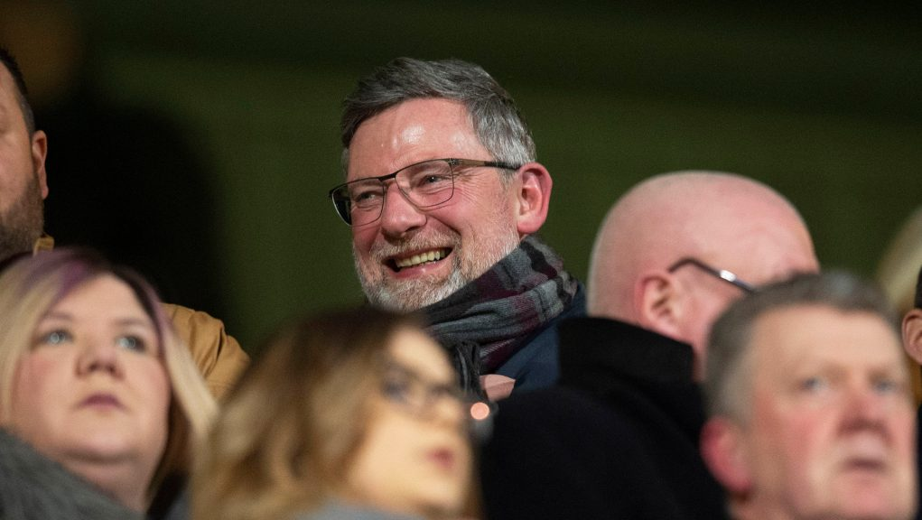 Levein has been working in the media since leaving Hearts.