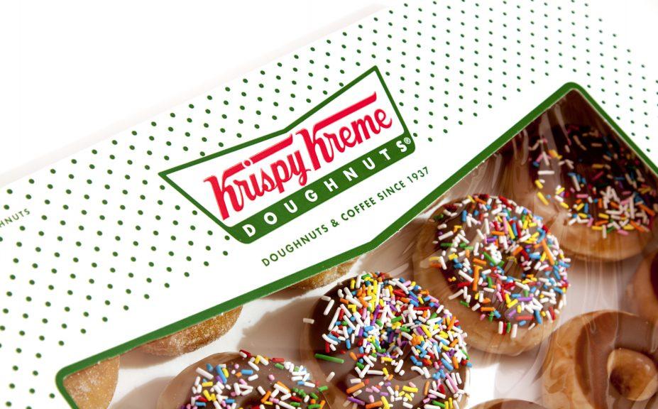 Krispy Kreme: Third Scottish store set to open.
