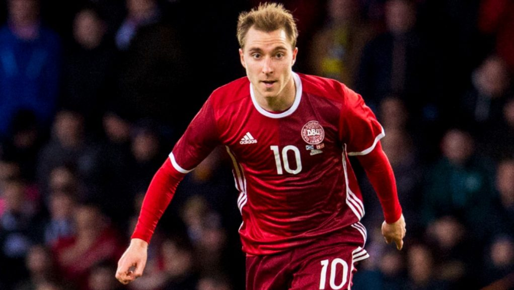 Football: Inter Milan player Eriksen dropped to the ground at the Parken Stadium shortly before half-time.