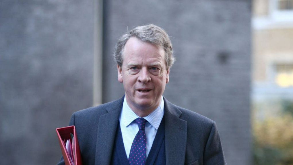 Trade deal: Scottish secretary Alister Jack said it will be a 'huge opportunity'.