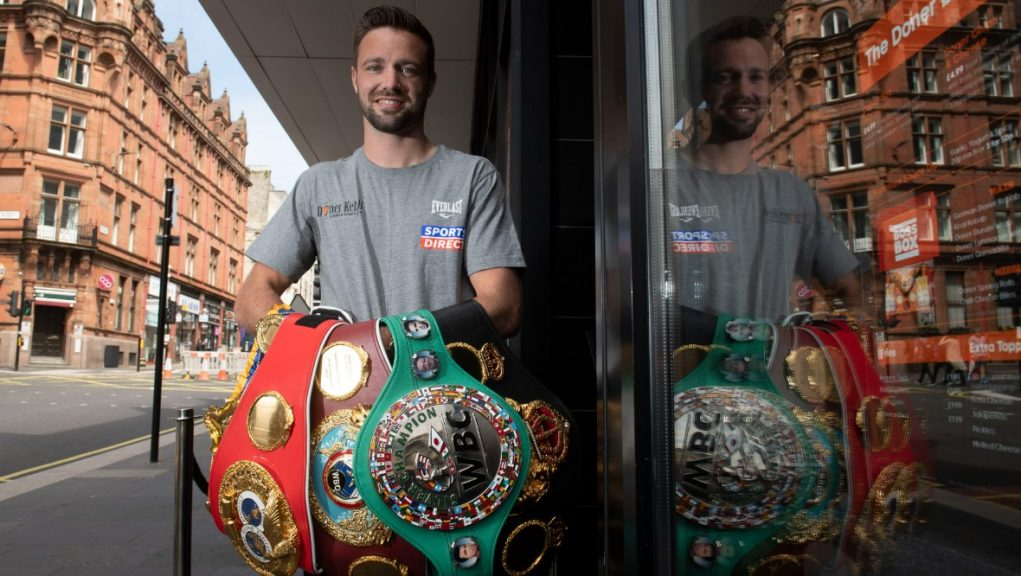 Champ: Josh Taylor is to be awarded the Freedom of East Lothian.