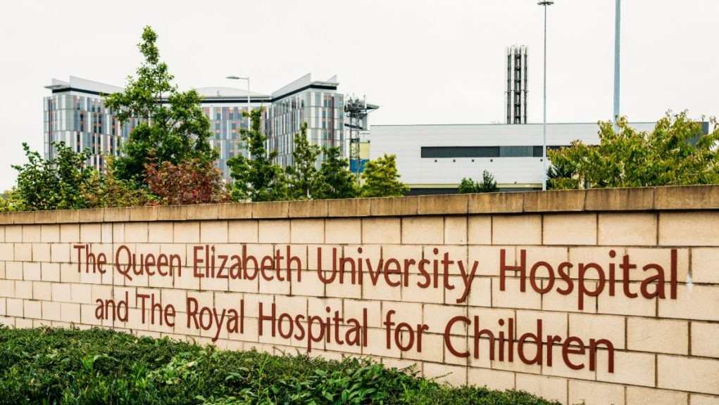 Royal Hospital for Children: The teenager died on Saturday.