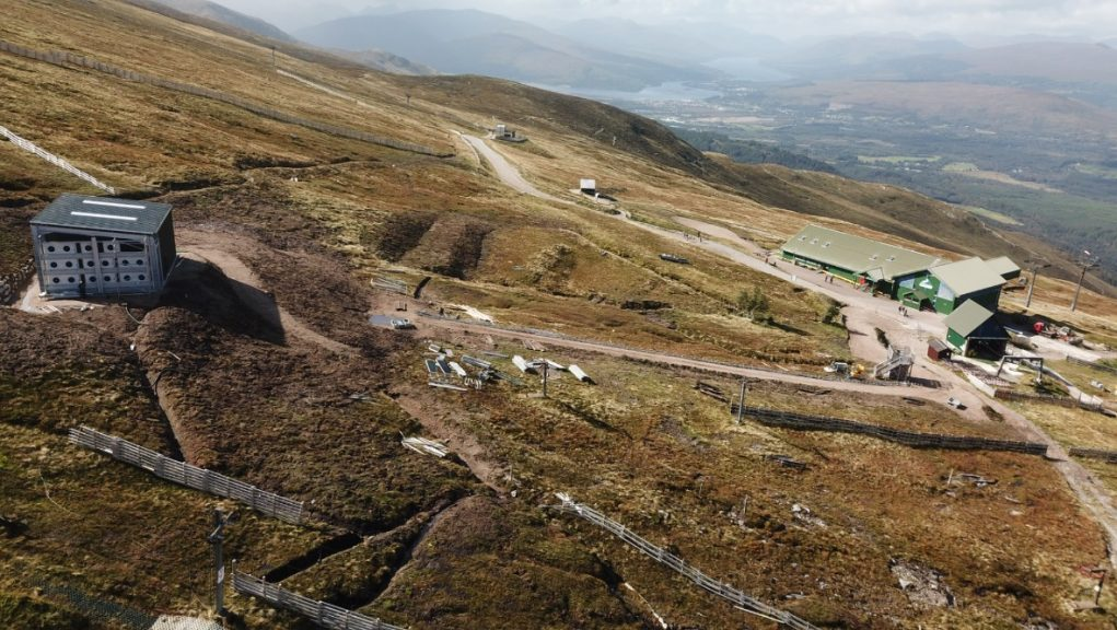 Nevis Range: The mountain resort will launch a new bike trail this summer.