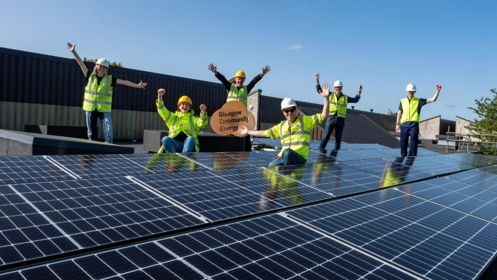 Glasgow Community Energy: The co-operative has surpassed a fundraising target early.