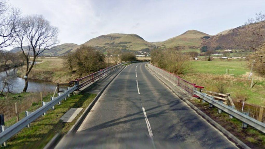 Clackmannanshire: The crash happened between Alva and Fishcross.