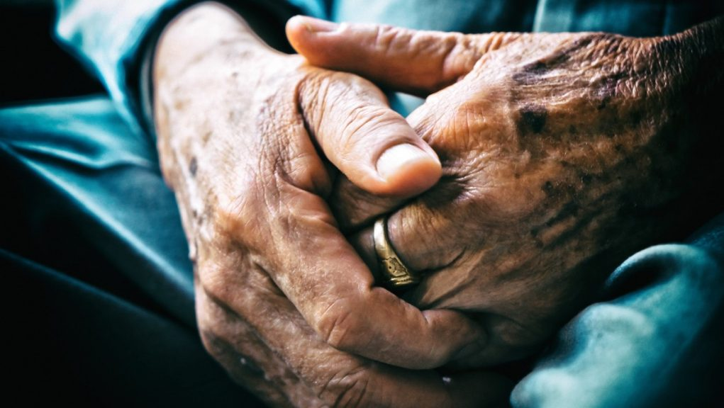 Elderly: 'Could fall into poverty'.
