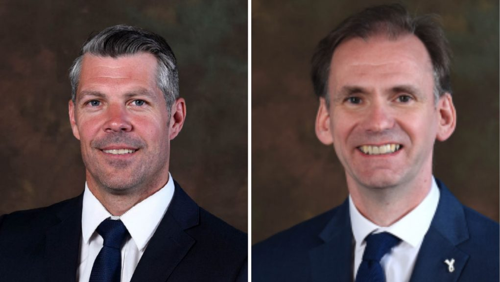 Councillors Todd Ferguson and Tony Gurney clashed at a council meeting.