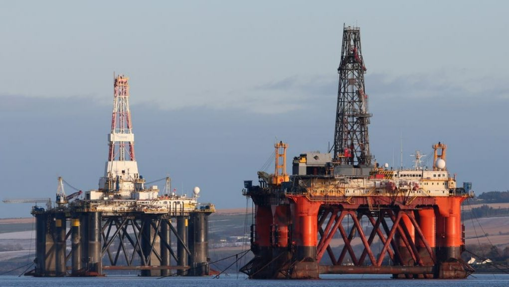 North Sea: MSPs have debated how to address the climate emergency.