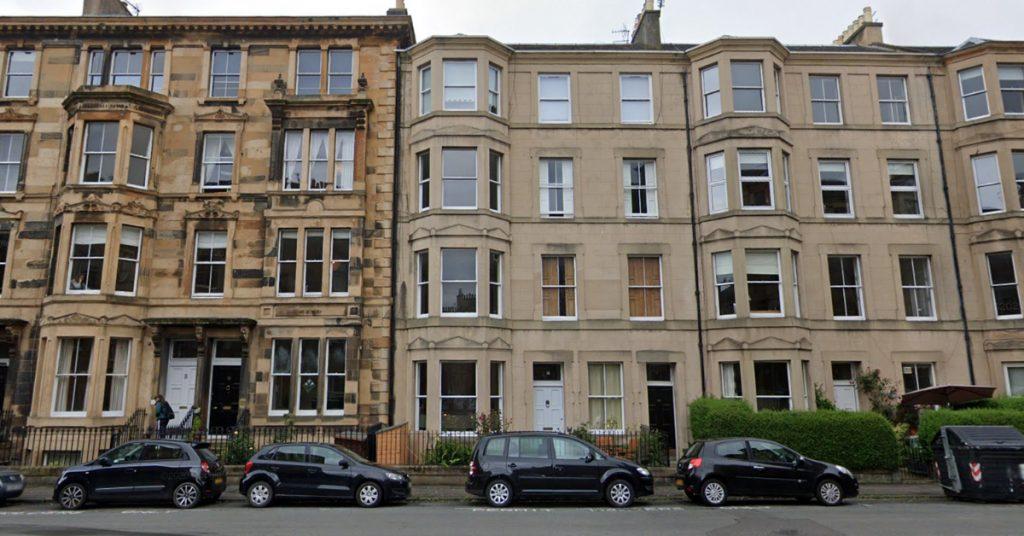 Edinburgh: The man was pronounced dead at the scene.