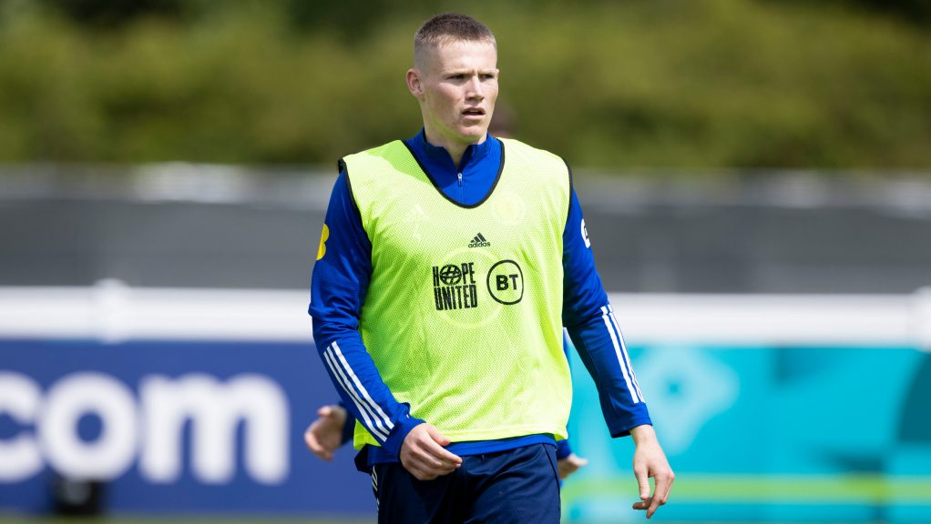 McTominay is eagerly anticipating Scotland's first match at Euro 2020 on Monday.