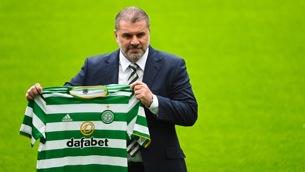Postecoglou was introduced as Celtic's new manager.