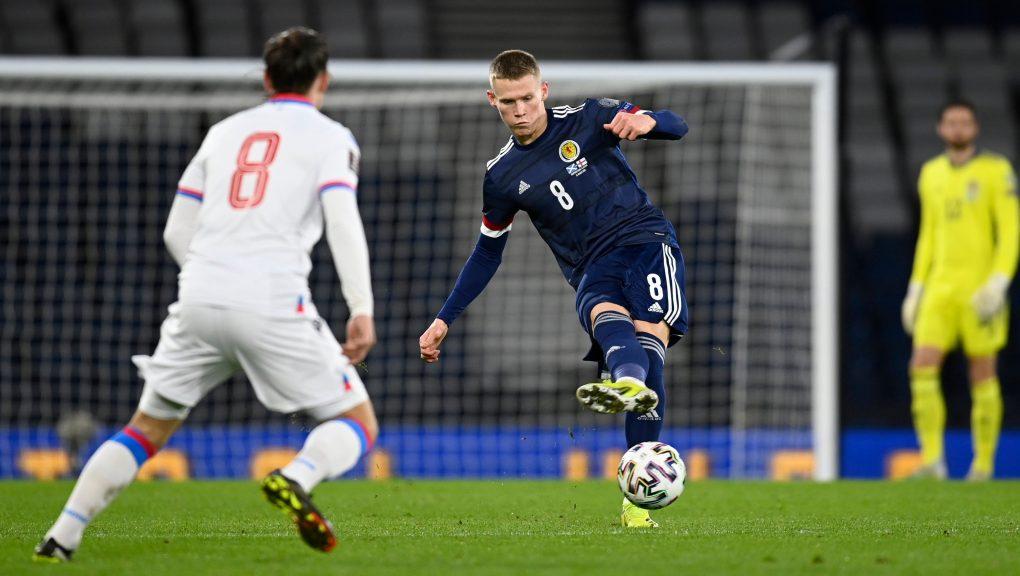Manchester United's Scott McTominay starts for Scotland.