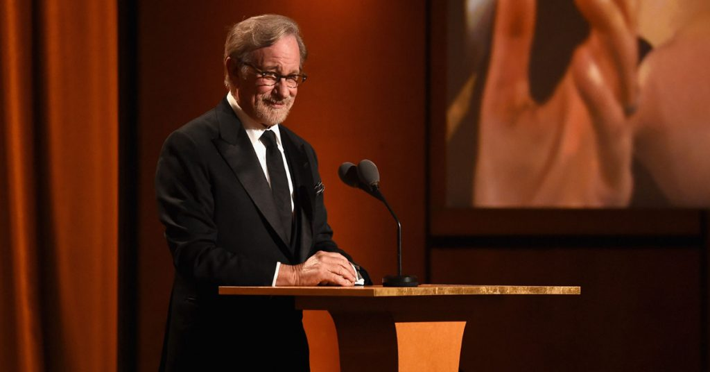 Spielberg previously said Netflix films should compete for Emmys, the TV awards.