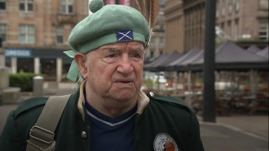 Oldest member of Tartan Army comments on Scotland's exit from Euros.