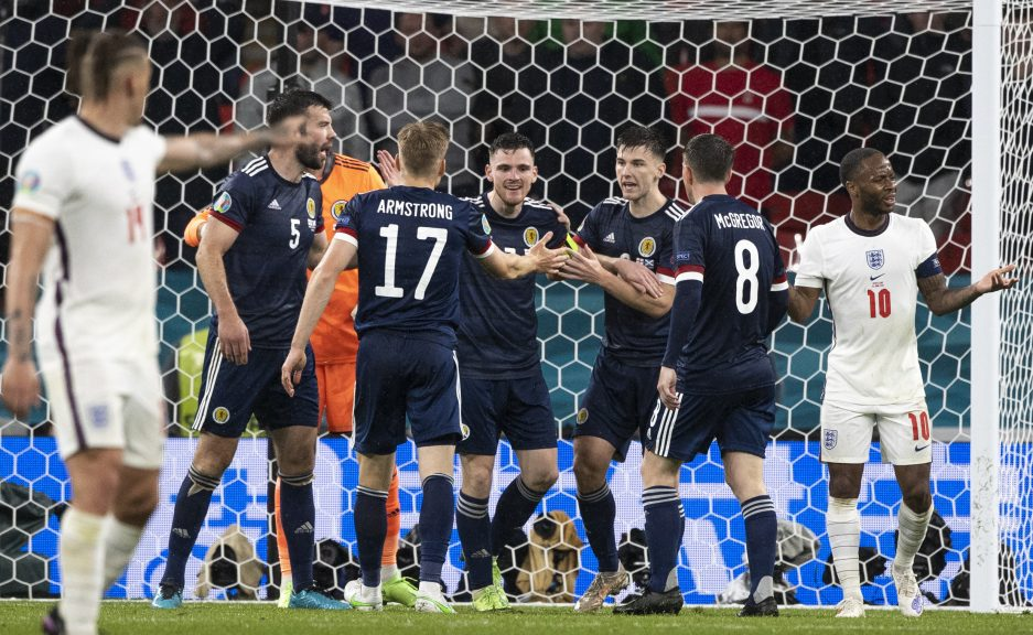 Scotland matched England in every department in a well-contested game.