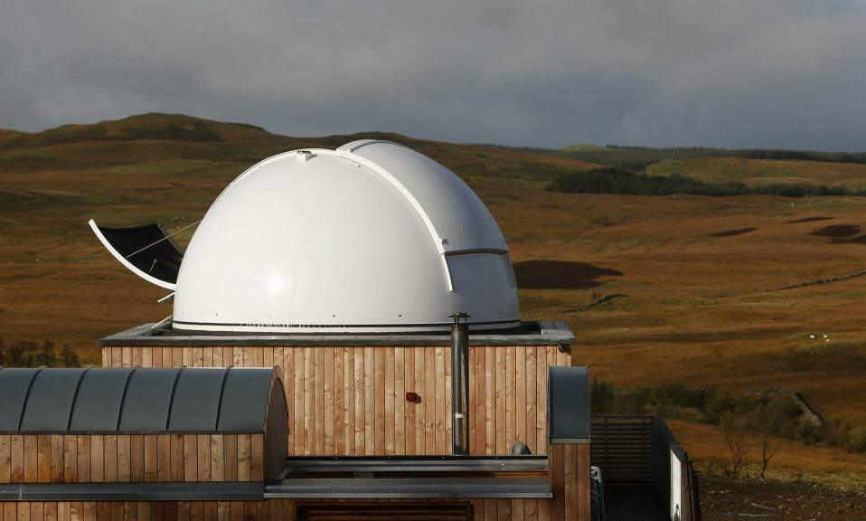 An observatory has been 'extensively damaged' by fire.
