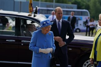 The Queen and The Duke of Cambridge begin their visit to Scotland.