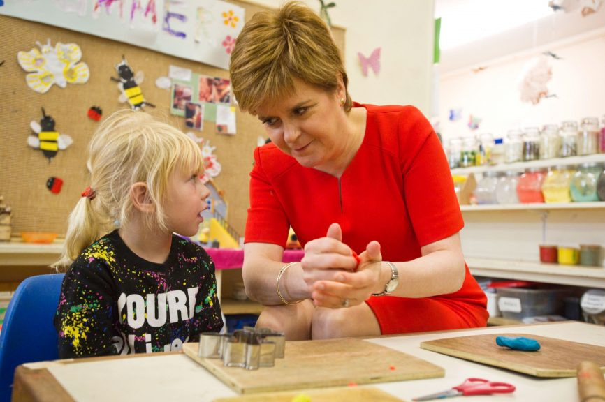 The Scottish Government said the pandemic means such events are 'generally not permitted currently'.