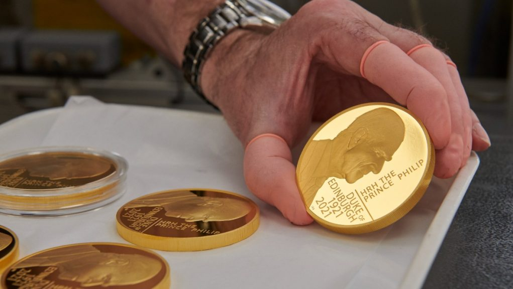 Prince Philip: New coin to commemorate Duke's life.