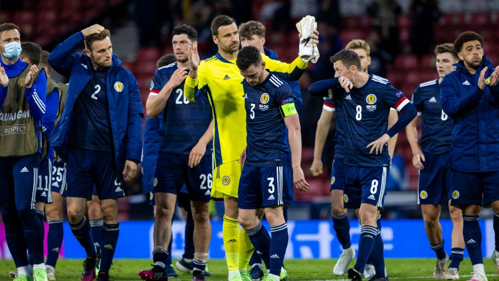 Scotland's players bowed out of the Euros on Tuesday.