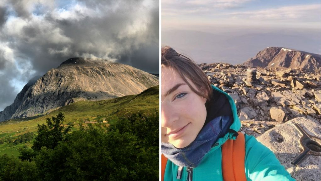 Sarah Buick was last pictured at the summit of Ben Nevis on Tuesday morning.