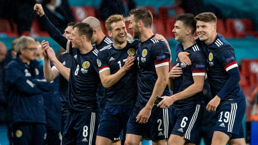 Scotland are looking to progress after drawing with England at Wembley.