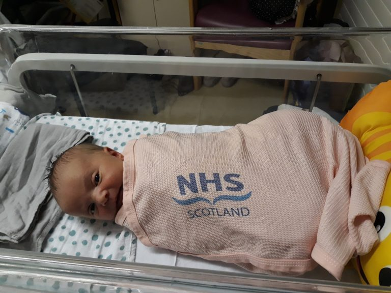 Drug: Baby Isabella given potentially life-saving drug.