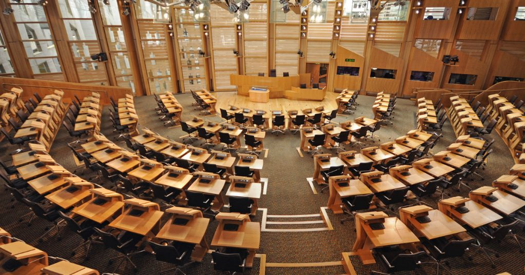 Bill: MSPs back new bill by 92 to 27.