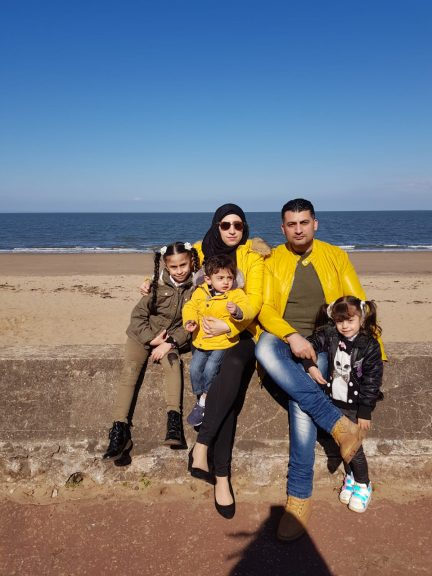 Yasser spoke of the challenges faced by the family in leaving Syria.