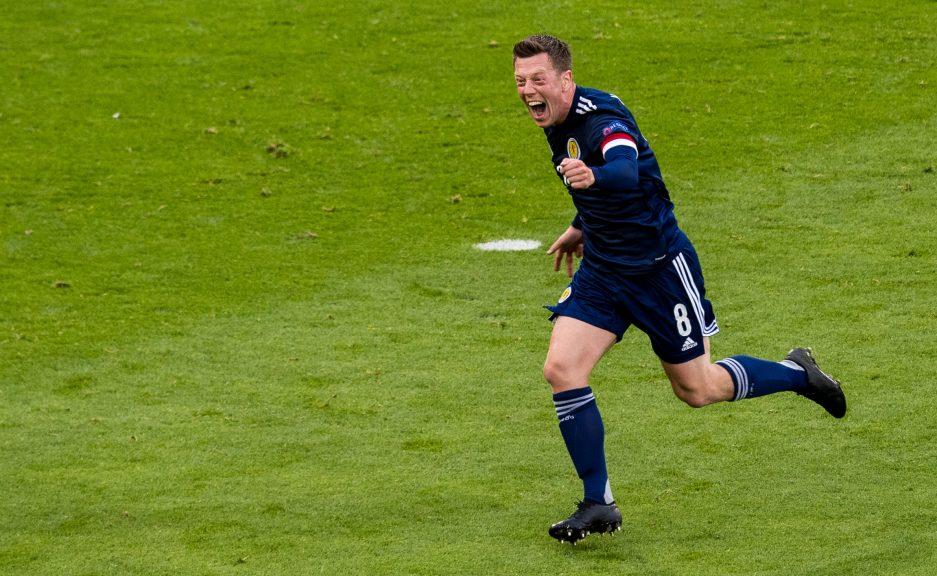 Hampden Park: Ready for Scotland vs Croatia.