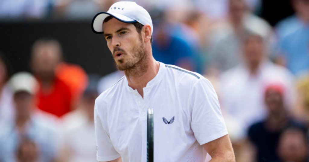 Murray: Knocked out in straight sets.