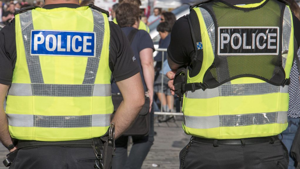 Some 10,000 police officers will be deployed each day during COP26 in Glasgow.
