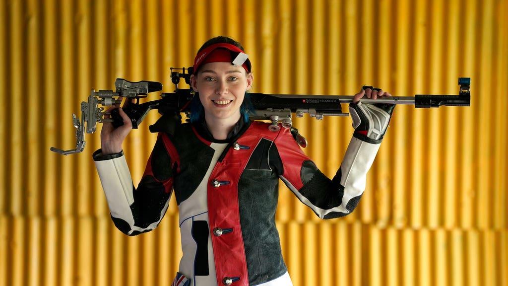 Seonaid McIntosh: Aiming for medals at Tokyo.