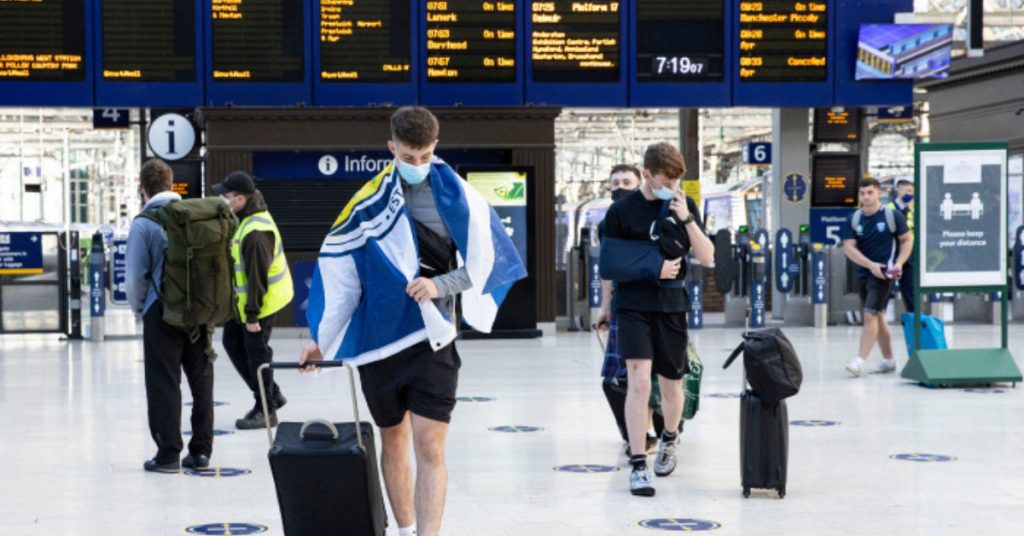 ScotRail staff are striking for pay equality on Sunday.