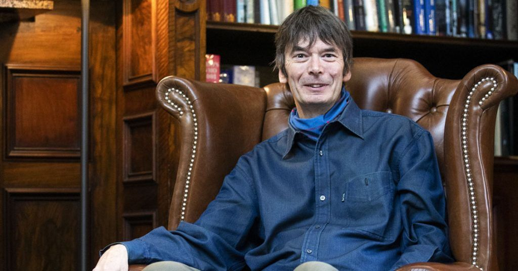 Author Ian Rankin also received the Theakston Old Peculier outstanding contribution to crime Fiction Award 2021.