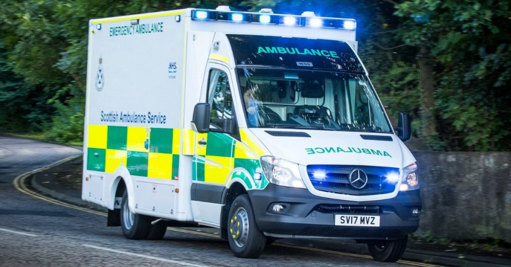 Ambulance: Crisis 'caused by more than pandemic'.