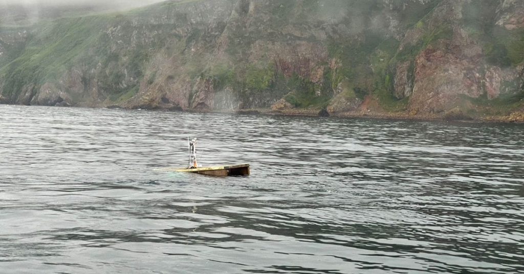 RNLI Wick Lifeboat was called out to a report of a vessel taking on water, but when they arrived the houseboat had sunk.