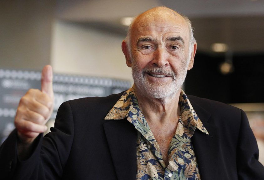 Connery died in 2020 aged 90.
