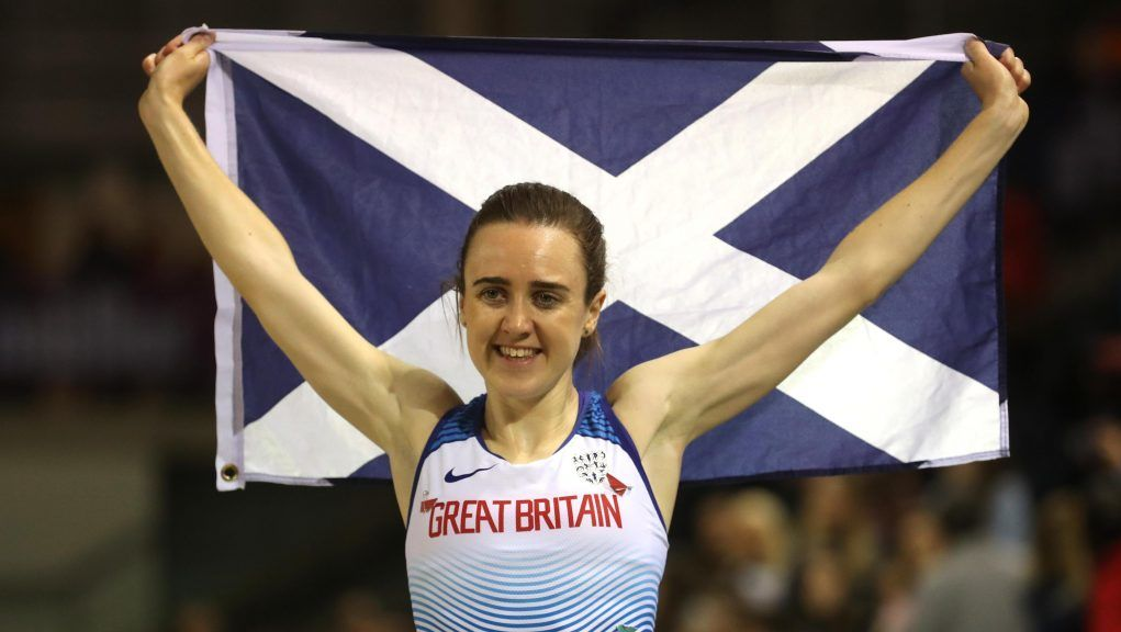 Laura Muir is one of the big hopes for success on the track.