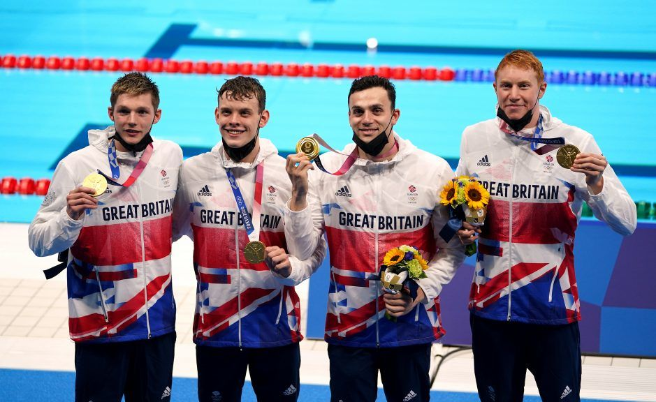 Winners: Gold Medals for Team GB.