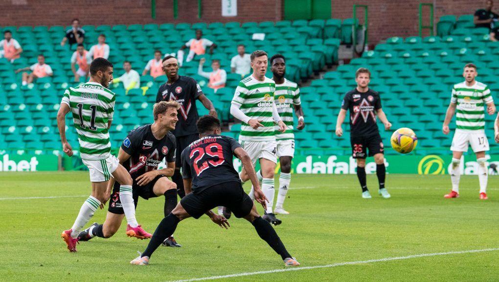 Liel Abada scored on his debut for Celtic.
