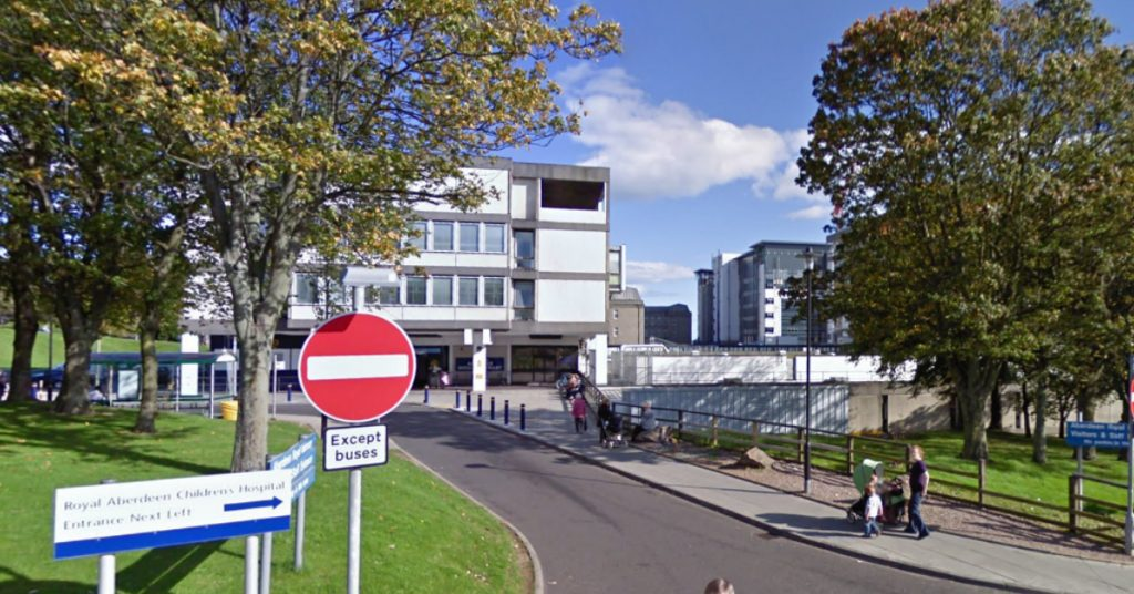 Aberdeen Royal Infirmary has been at full capacity in recent days.