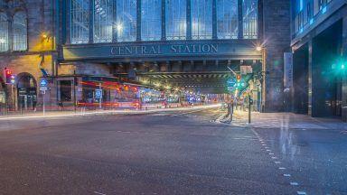 Glasgow Central railway station.