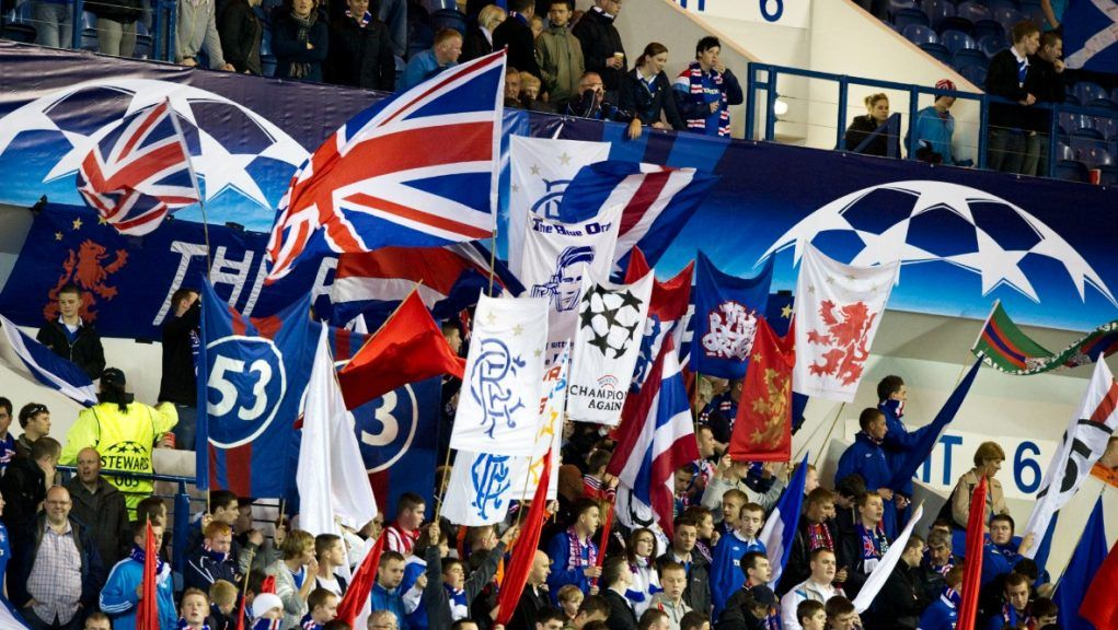 Rangers fans will be hoping to hear the Champions League anthem at Ibrox this season.