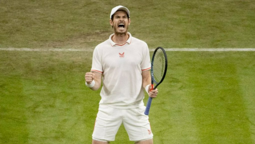 Andy Murray: Back in wife's 'good banks'.
