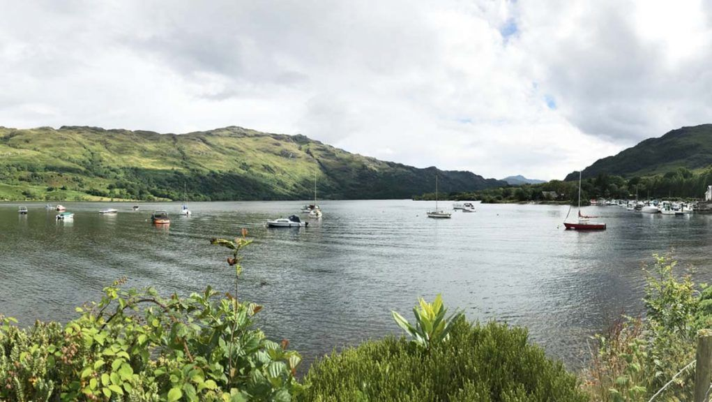Three people have died after getting into difficulty in the water at Loch Lomond, near Ardlui.