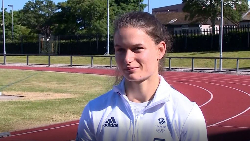 Clark says the Games are a 'special moment' and plans to enjoy her experience.