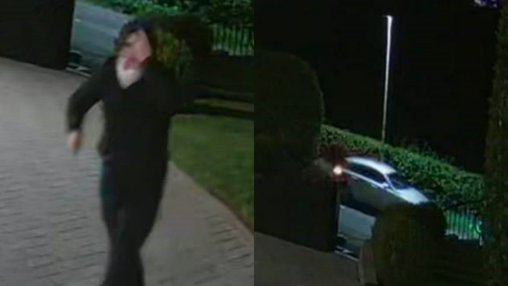 CCTV: Police looking to trace the man and vehicle pictured.