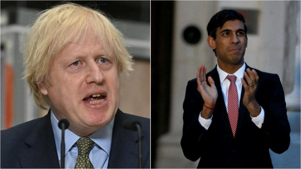 The Prime Minister and Chancellor Rishi Sunak had originally planned to take daily tests rather than self-isolate.